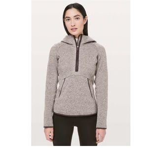 Lululemon fleece & thank you pullover jacket NWOT